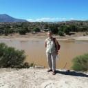 Dr. Claassen in the field